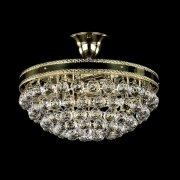 <B>【ART GLASS】</B>チェコorスワロフスキークリスタルシーリングシャンデリア 3灯(W360×H130mm)