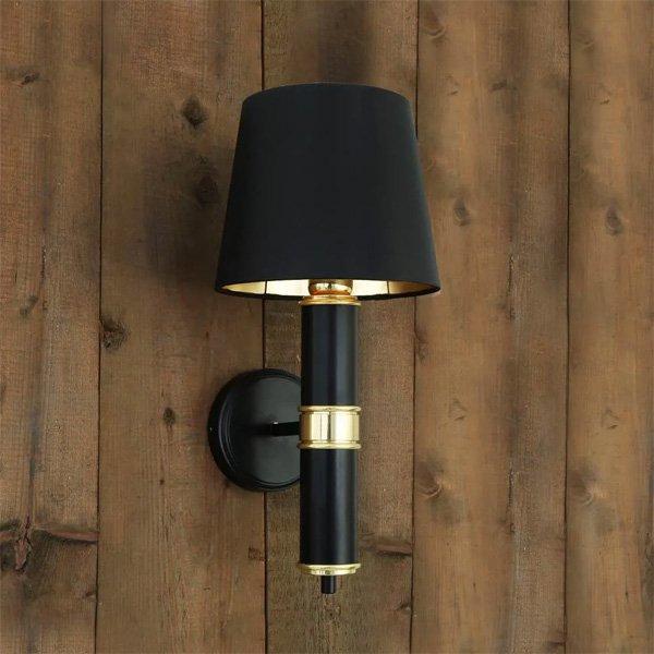 【Mullan】「KANGOS」シェードウォールライト1灯(W200×D220×H440mm)