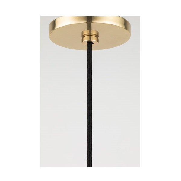 【MITZI】ペンダントライト・C「DANI」1灯・ゴールド(W355.6×H342.9mm)