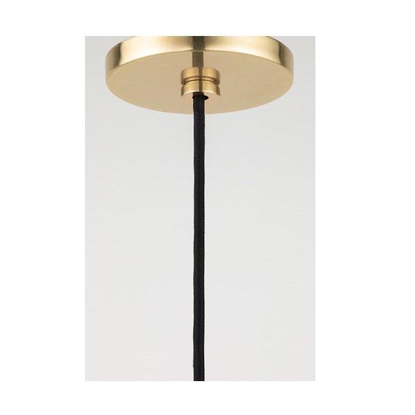 【MITZI】ペンダントライト・B「DANI」1灯・ゴールド(W133.3×H406.4mm)