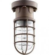 【QUORUM】アメリカ製シーリングライト1灯(W120×H240mm)