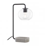 【MITZI】ガラスボールテーブルライト「MARGOT」1灯・ブラック系(W209.5×H520.7mm)