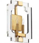 【QUORUM】アメリカ製ウォールライト2灯(W260×H380×D100mm)