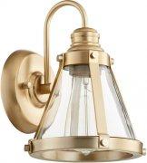 【QUORUM】アメリカ製ウォールライト1灯(W180×H240×D200mm)