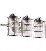 【QUORUM】アメリカ製ウォールライト3灯(W500×H210×D190mm)