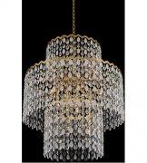 【ALLEGRI】ペンダントシーリングライト「Caretta」21灯アンティークブラス(Φ880×H1060mm)