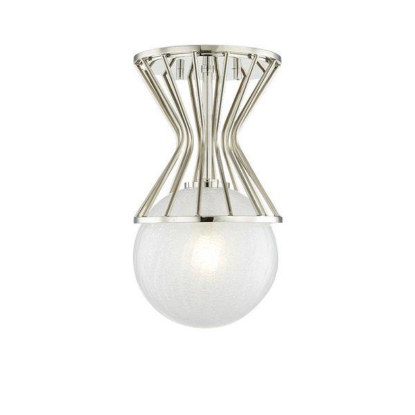 【MITZI】ワイヤーシーリングライト「PETRA」1灯・クローム(W196.8×H355.6mm)
