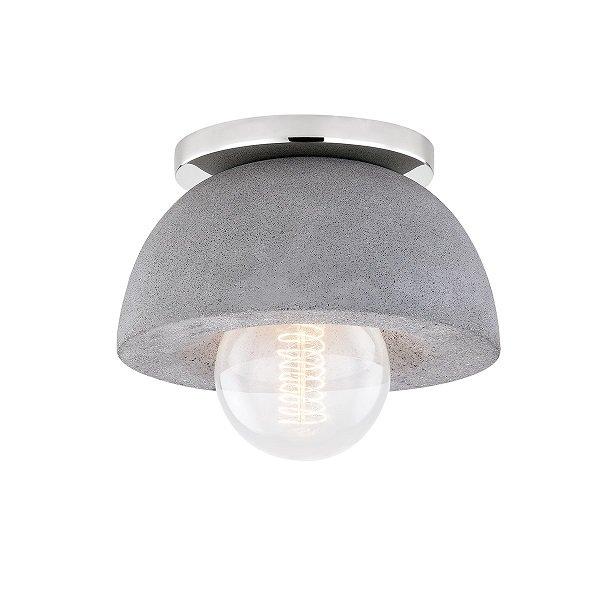 【MITZI】シーリングライト「POPPY」1灯・クローム(W177.8×H146.05mm)