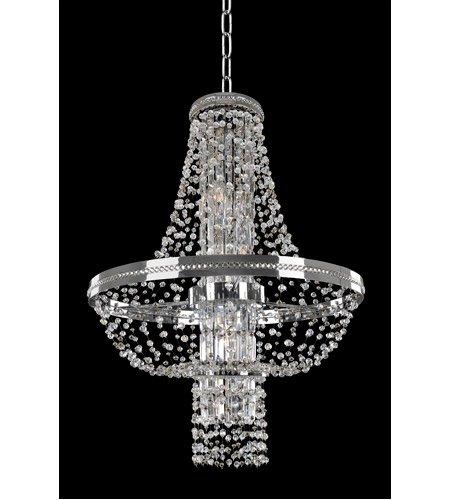 【ALLEGRI】ペンダントシーリングライト「Capri」8灯クローム(Φ600mm)