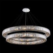 【ALLEGRI】クリスタルシーリングシャンデリア「Rondelle」38灯(Φ1820×H250mm)