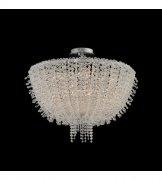 【ALLEGRI】クリスタルシーリングシャンデリア「Cielo」8灯クローム (Φ600mm)