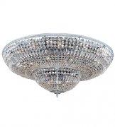 【ALLEGRI】クリスタルシーリングシャンデリア「Lemire」24灯クローム (Φ1210×H270mm)