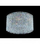 【ALLEGRI】クリスタルシーリングシャンデリア「Milieu Metro」5灯クローム (Φ350×H200mm)