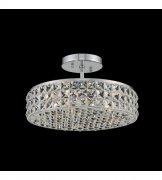 【ALLEGRI】クリスタルシーリングシャンデリア「Loro」3灯クローム (Φ330mm)
