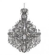 【ALLEGRI】クリスタルシャンデリア「Brahms」66灯クローム(Φ1760×H2500mm)