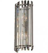 【ALLEGRI】クリスタルウォールライト「Viano」2灯ポリッシュクローム(W200×H450×D100mm)