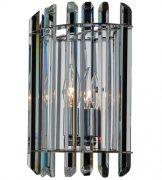 【ALLEGRI】クリスタルウォールライト「Viano」1灯ポリッシュクローム(W200×H270×D100mm)