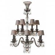 【SAINT LOUIS】フランス・シャンデリア「Grand Siècle」12灯(W850×H1250mm)※お見積り