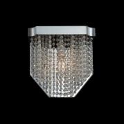 【ALLEGRI】クリスタルウォールライト「Tenda」1灯クローム(W220×H220×D120mm)