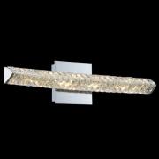 【ALLEGRI】クリスタルウォールライト「Aries」クローム(W530×H150×D120mm)