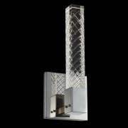 【ALLEGRI】クリスタルウォールライト「Apollo」クローム(W120×H300×D100mm)