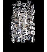 【ALLEGRI】クリスタルウォールライト「Dolo」2灯クローム(W150×H300×D100mm)