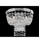 【ALLEGRI】クリスタルウォールライト「Capri」2灯クローム(W330×H270×D170mm)