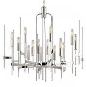 【HUDSON VALLEY】デザイン照明シャンデリア「BARI」16灯・クローム(W762.0×H736.6mm)