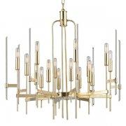 【HUDSON VALLEY】デザイン照明シャンデリア「BARI」16灯・ゴールド(W762.0×H736.6mm)