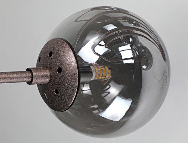 【full matcher】デザイン照明ガラスボールシェードライト 10灯