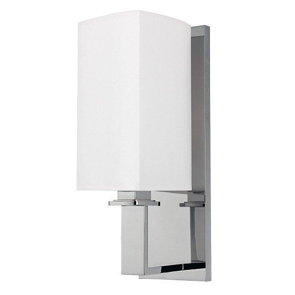 【HUDSON VALLEY】デザイン照明シェードウォールライト「BALDWIN」1灯・クローム(W114.3×H349.2mm)
