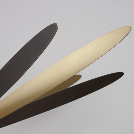 【Pouenat】フランス製・デザイン照明・8灯「LIBELLULE」LARGE(W570mm)