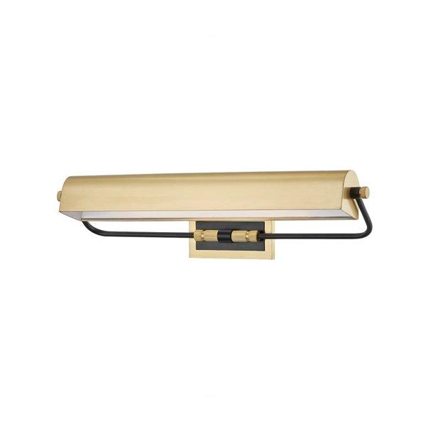 【HUDSON VALLEY】デザイン照明ピクチャーライト「BOWERY」2灯・ブロンズ(W590.5×H139.7mm)