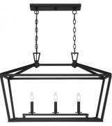 【SAVOY】アメリカ製 デザインシャンデリア3灯(W400×H530×D810mm)
