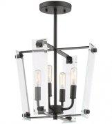 【SAVOY】アメリカ製 デザインシーリングライト 4灯(W330×H270mm)