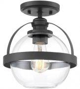 【SAVOY】アメリカ製 デザインシーリングライト 1灯(W230×H240mm)