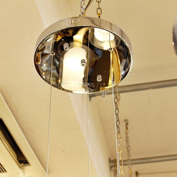 ガラスボールデザイン照明 3灯(約Φ300×H600mm)