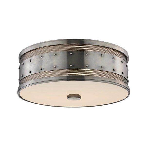 【HUDSON VALLEY】モダンシーリングライト「GAINES」3灯(W406.4×H139.7mm)