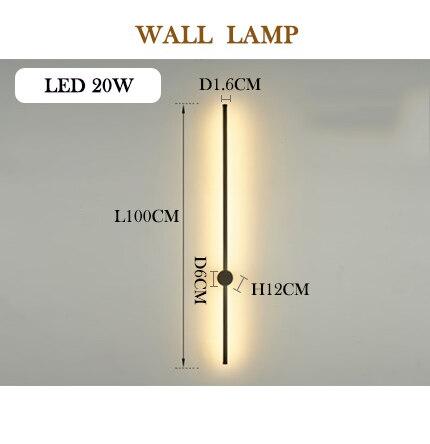 デザインウォールライト(約Φ16×H1000mm)