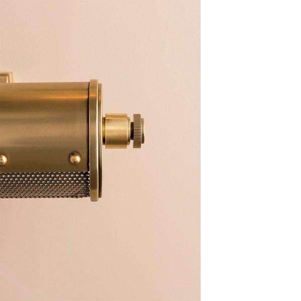 【HUDSON VALLEY】モダンピクチャーライト「GAINES」3灯・ゴールド(W647.7×H82.5mm)