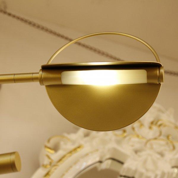 デザイン照明 ゴールド/ブラック 4灯(W1300×H400mm)