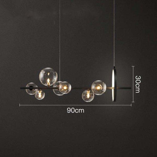 【Quality】デザイン照明7灯 (W900mm×H300mm)