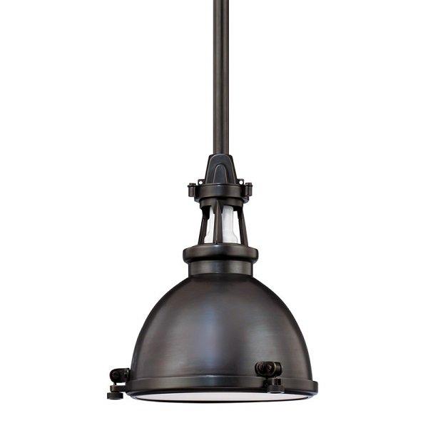 【HUDSON VALLEY】インダストリアル照明 メタルシェードペンダントライト「MASSENA」1灯(W241.3×H273.0mm)
