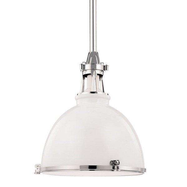 【HUDSON VALLEY】インダストリアル照明 メタルシェードペンダントライト「MASSENA」1灯(W495.3×H539.7mm)