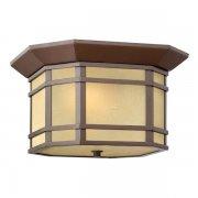 【HINKLEY】アウトドア・シーリングライト「Cherry Creek」1灯(W305×H184mm)
