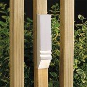 【KICHLER】米国・キチラー社12Vウッドデッキライト(ガーデン用) 1灯 ホワイト「Independence」(W32×H152mm)