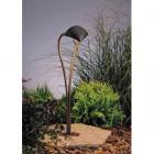 【KICHLER】米国・キチラー社12Vパスライト(ガーデンライト) 1灯 ブロンズ色(W152×H673mm)