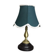 【LAMPS】アンティーク調シェードテーブルライト グリーン(W240×D240×H385mm)<img class='new_mark_img2' src='https://img.shop-pro.jp/img/new/icons1.gif' style='border:none;display:inline;margin:0px;padding:0px;width:auto;' />