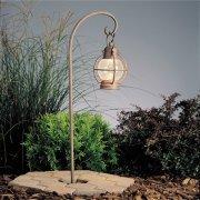 【KICHLER】米国・キチラー社モダン12Vパスライト(ガーデンライト) 1灯 ブラウン色(W140×H699mm)「Concord」