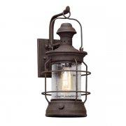 【TROY】アウトドア・インダストリアル照明 ランタンウォールライト「ATKINS」1灯(W203.2×D254.0×H457.2mm)